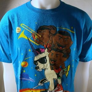 """The New Day """"Feel The Power"""" Authentic T-Shirt"""